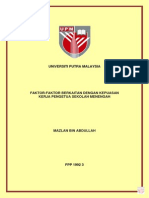 1992-Faktor Berkaitan Dgn Kepuasan Kerja Pengetua SM