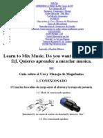 Guia sobre el Uso y Manejo de Megafonias - guía montaje equipos sonido | Aprende a Pinchar Música