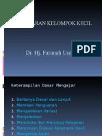 Pengajaran kelompok kecil (FU).ppt