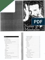Notas Mentales - Manolo Talman