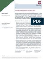 La Qualité Du Management Crée de La Valeur Oddo Securities
