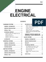 Mitsubishi Pajero Workshop Manual 16 - Engine Electrical