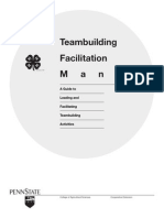 Teambuilding Facilitation Manual Games
