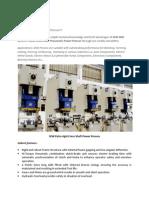 SEW SNX Series Cross Shaft Pneumatic C Frame Powre Press