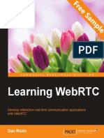 Learning WebRTC - Sample Chapter