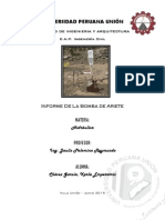 Informe Hidraulica Bomba de Ariete