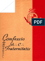 Confessio RC Fraternitatis by Dr. H. Spencer Lewis (English)