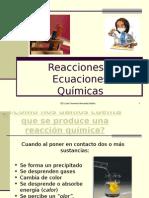 Reacciones y Ecuaciones Químicas