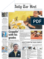 The Daily Tar Heel for Feb. 18, 2010