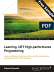 Learning .NET High-performance Programming  - Sample Chapter