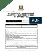 XLVII Prova Preambular MPRS
