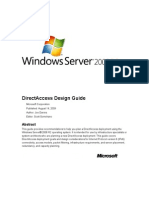 Direct Access Design Guide