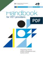 Handbook Vet Providers