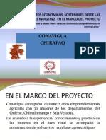 Generación de economías locales y agricultura sostenible.