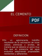 3) Componente de Cemento