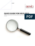 234850500 Aexio Xeus 2013 Quick Guide