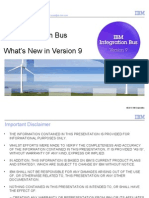 IBM Integration Bus V9