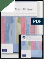 Cuadernillo MCMI III