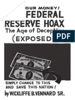 Vennard, Wickliffe B. - The Federal Reserve Hoax, The Age of Deception (1980)