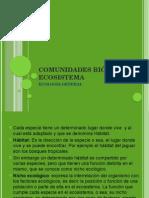COMUNIDADES BIOTICAS