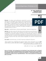 Abdelhamid (2009). Représentations Sociolinguistiques d'Étudiants en FLE