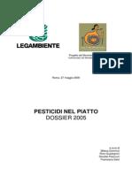 Dossier Pesticidi 2005