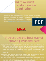 Send Flowers Online in Hyderabad through Winni