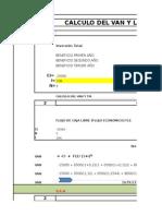 Ejemplos -Van-y-tir-completo Metodo Simple y Flujos Efectivo Jose Jama