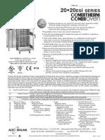 Alto Shaam 20-20ESI Combi Oven