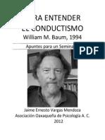 Para Entender El Conductismo-william_baum