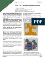 "Design & Analysis of Ø40"" x 80"" Conventional Sugar mill head stock."