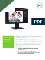Dell 19 Monitor E1914H