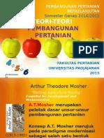 Kuliah 4, 5 dan 6 Pembangunan Pertanian Berkelanjutan Smt   Genap  2014-2015(3).ppt