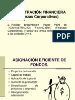 Finanzas Corporativas y Amdministracion Financiera y Presupuestaria