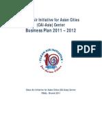 CAI-Asia Center Business Plan 2011-2012 - FINAL