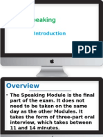 IELTS Speaking Intro
