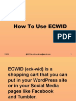 ECKWID Tutorial