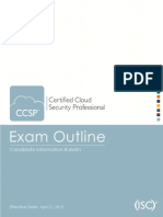 Ccsp Exam Outline