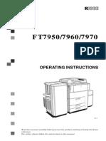FT7900 series Operator manual