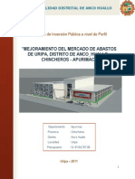 Uripa Perfil Mercado