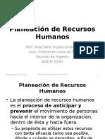 3 Planeación de Recursos Humanos