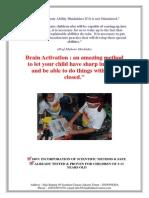 Brain Activation