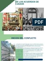 PROCESO DE LOS ACUERDOS DE PAZ EL SALVADOR