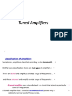 (3) Tuned Amplifiers
