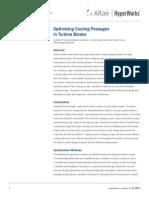Optimized Cooling Passage Design