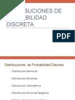 Distribuciones de Probabilidad Discretas 2015 I
