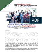 "Pelaksanaan Pelatihan ""Sales Planning & Marketing Management"" (Kanaidi, sebagai Pembicara)"