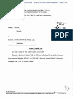 Gainor v. Sidley, Austin, Brow - Document No. 8
