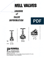 Hand Book of Valve Information