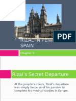 Chapter 9-Rizal in Peninsular Spain